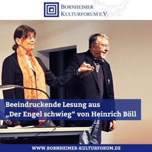 """Beeindruckende Lesung aus """"Der Engel schwieg"""" von Heinrich Böll"""