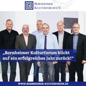 """""""Bornheimer Kulturforum blickt auf ein erfolgreiches Jahr zurück!"""""""