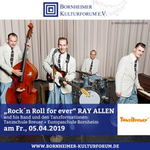 """Rock´n Roll for ever"" RAY ALLEN and his Band"
