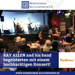 """Rock´n Roll for ever"" • RAY ALLEN and his band begeisterten mit einem hochkarätigen Konzert!"