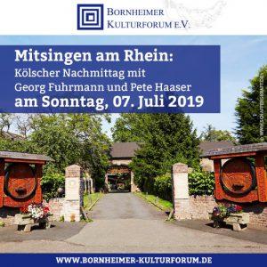 Mitsingen am Rhein
