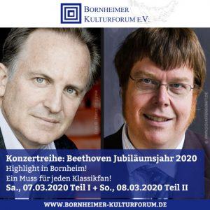 Konzertreihe: Beethoven Jubiläumsjahr 2020