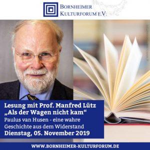 """Lesung mit Prof. Manfred Lütz """"Als der Wagen nicht kam"""""""