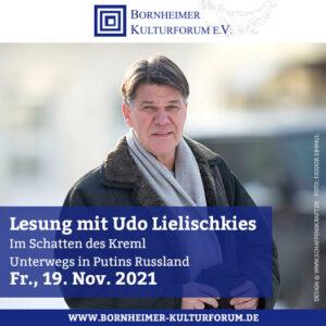Lesung mit Udo Lielischkies